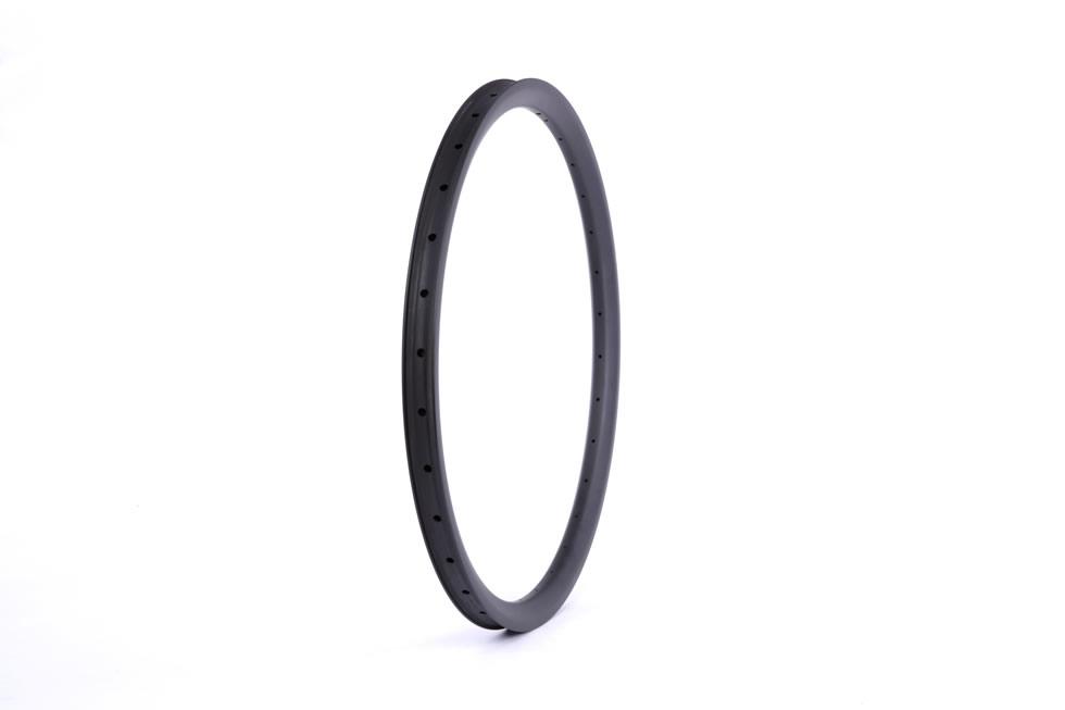 Enduro downhill hookless carbon 26er mtb bike rims 30mm depth inner width 27mm DH AM rim tubeless compatible outer width 33mm