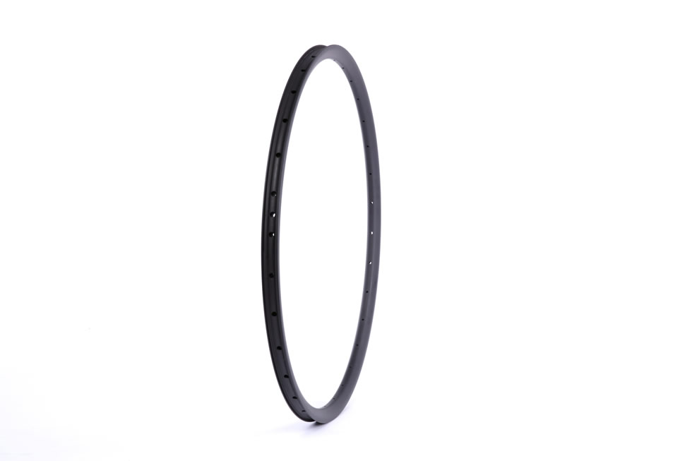 Hookless carbon 29er all mountain mtb 24mm depth inner width 22mm AM rim tubeless compatible outer width 27mm
