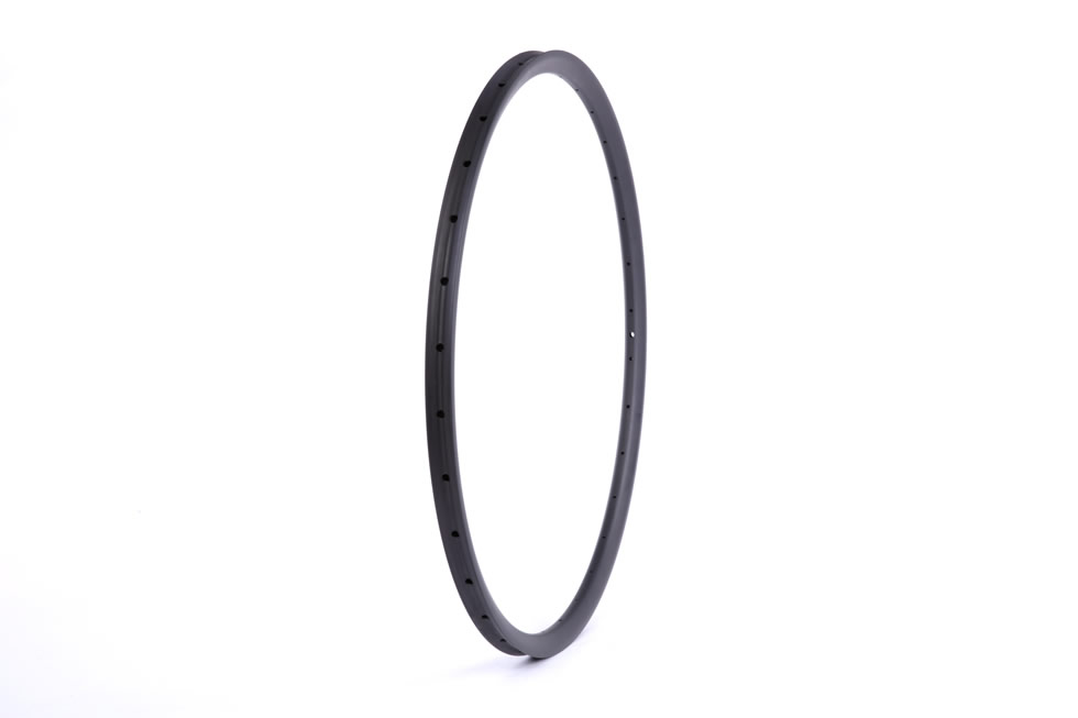Cross country carbon fiber mountain 29er mtb 24mm depth  XC rim tubular outer width 27mm