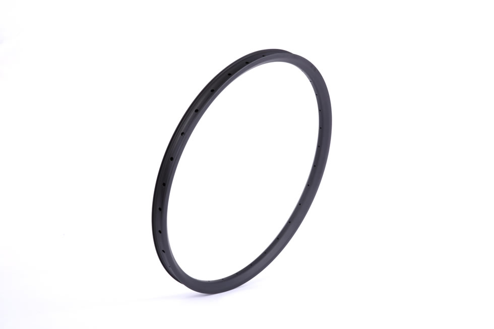 Beadless carbon 27.5er all mountain mtb 25mm depth inner width 30mm AM DH 650B rims tubeless compatible outer width 35mm