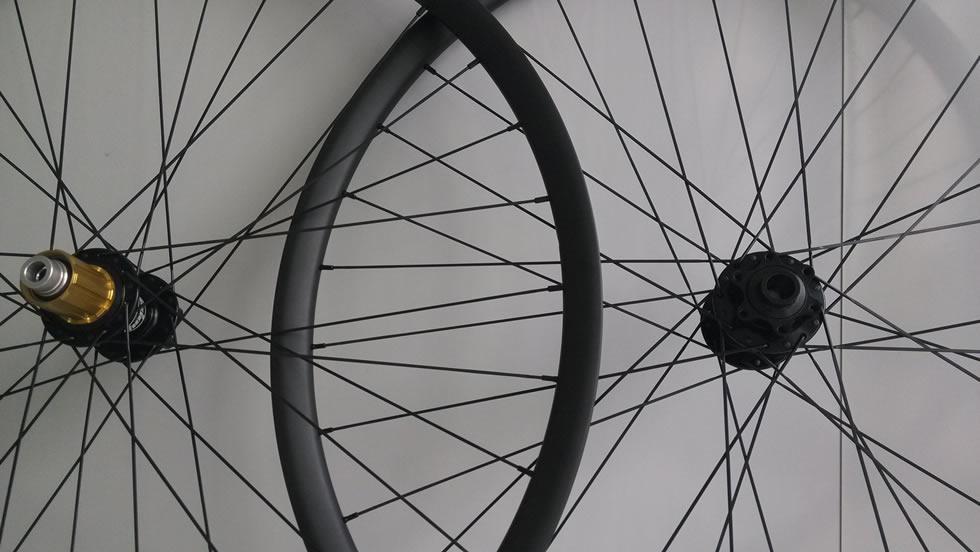 MTB Hand-built Endro Downhill 650B Wheelset 35mm wide 27.5er wheels tubeless ready