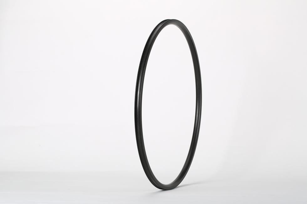 Carbon road bike out width 23.00mm depth 24mm rim 700C tubular